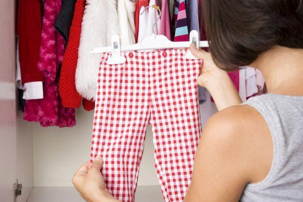 ¡Solo ropa en buen estado! Otra regla que tomamos del mismo sitio...