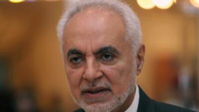 El imán Feisal Abdul Rauf que planea la construcción de un centro islámi...