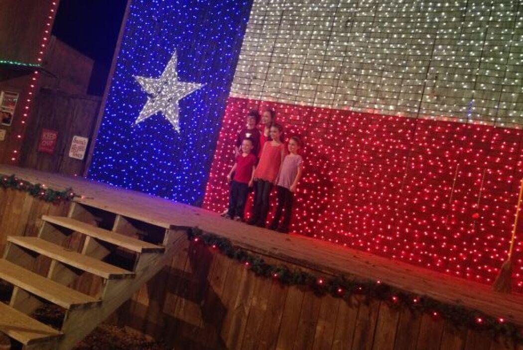 Y para probar que esta mágica tierra está en Texas…