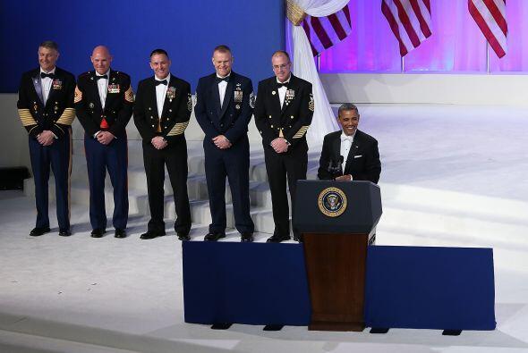 El presidente estadounidense volvió a recordar que gracias a los hombres...