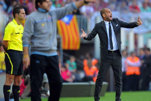 Los dos técnicos, Pochettino y Guardiola, no paraban de dar indic...