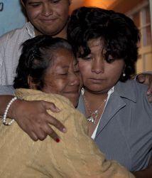 Doña Emeteria y Marlene se reencontraron tras 20 años de no verse.