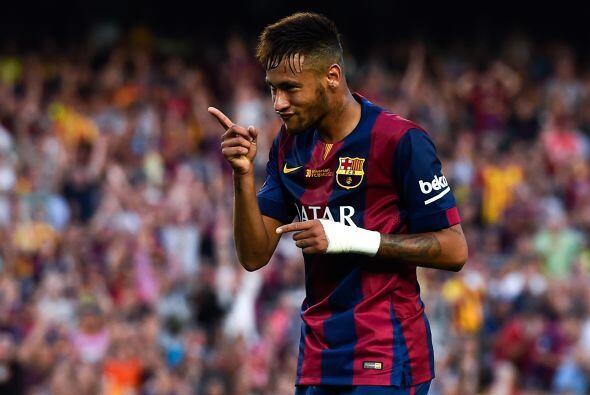 Detrás del luso tenemos a Neymar, el 11 del Barcelona suma 8 dianas en e...