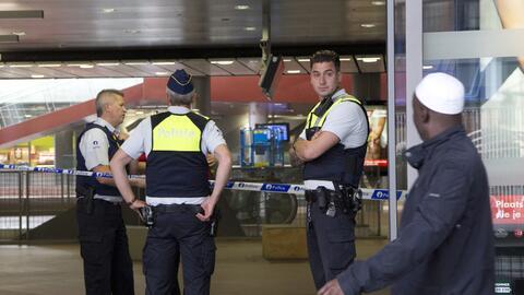 Este sábado se llevaron a cabo decenas de allanamientos en Brusel...