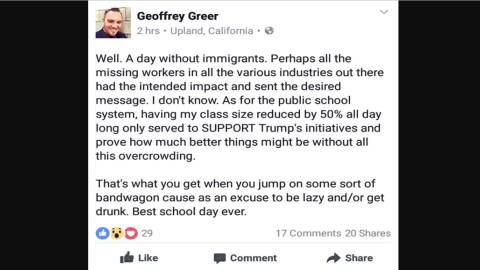 Comentario en Facebook que habría insultado a los alumnos de una...