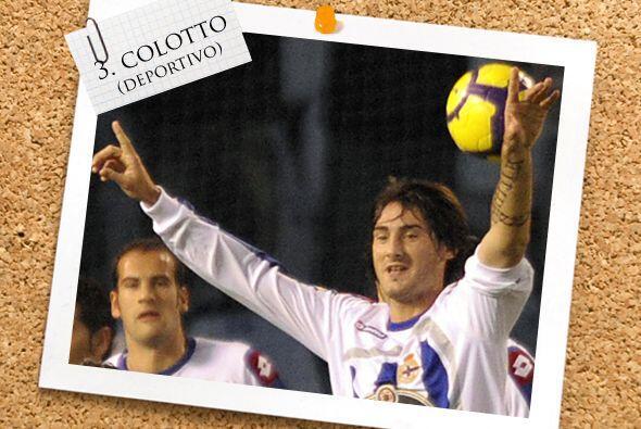 El argentino Diego Colotto es una de las claves en la reacción del Depor...
