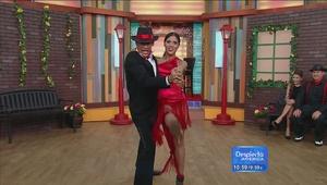 ¡Ouch! En detalle la lesión de Johnny Lozada bailando tango