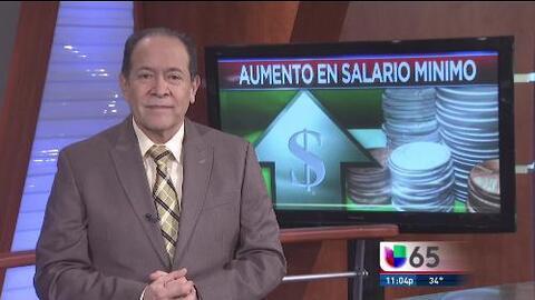 Aumento en salario mínimo