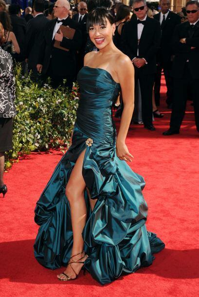 """Naya Rivera creyó que """"desfilar por la alfombra"""" era lo mismo que partic..."""