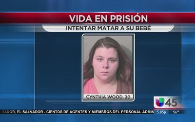 Vida en prisión a madre que intento asfixiar a bebé