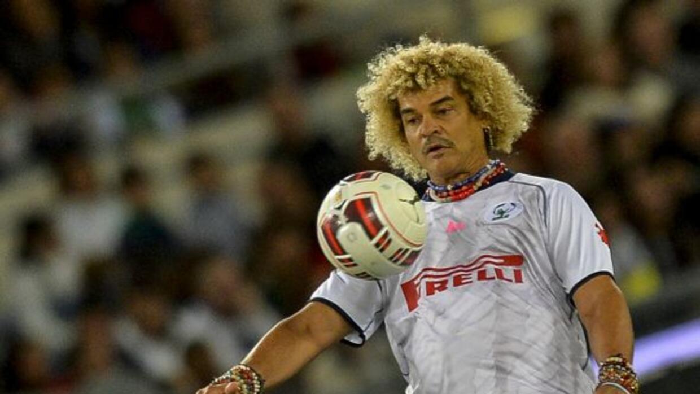 El ex jugador de la selección de colombiana protagonizó la cinta, 'Por u...