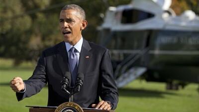 El presidente Barack Obama habla sobre nuevas medidas para controlar el...