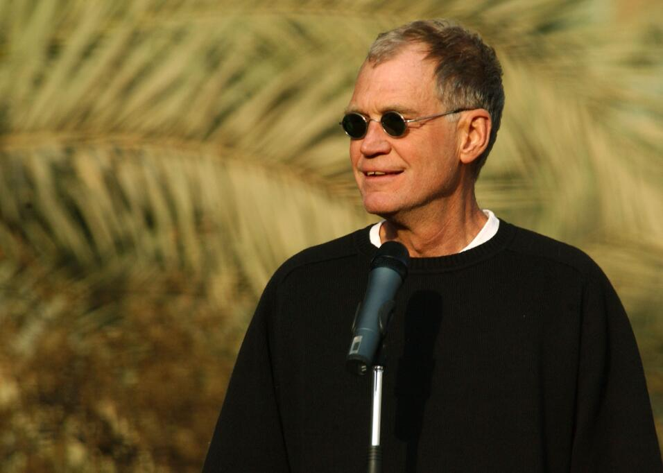 David Letterman en sus inicios