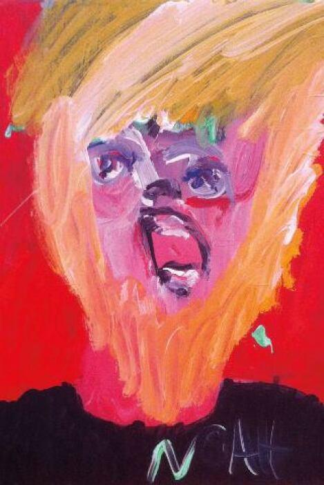 """Noah Erenberg, """"Head 7""""  -""""Drawing Autism""""es una increíble colección d..."""