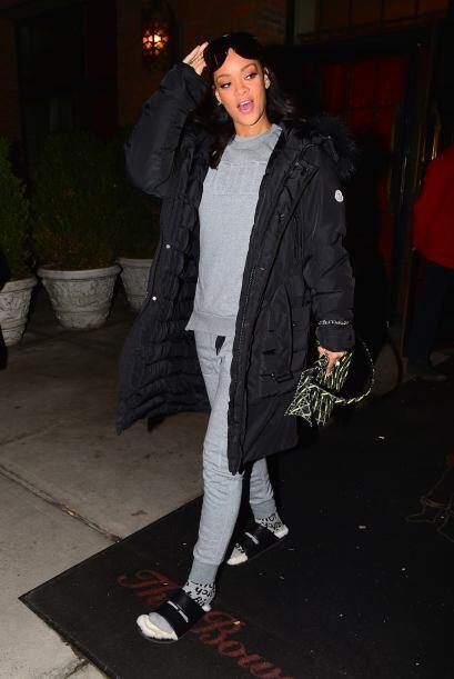 A Rihanna ya le gustó instalarse en las peores de la semana. Cuan...