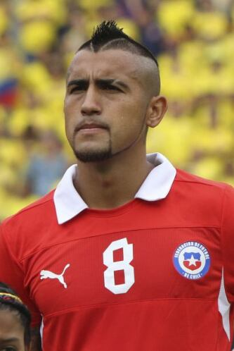 Arturo Vidal:Aparte de meter goles importantes para la selección chilena...