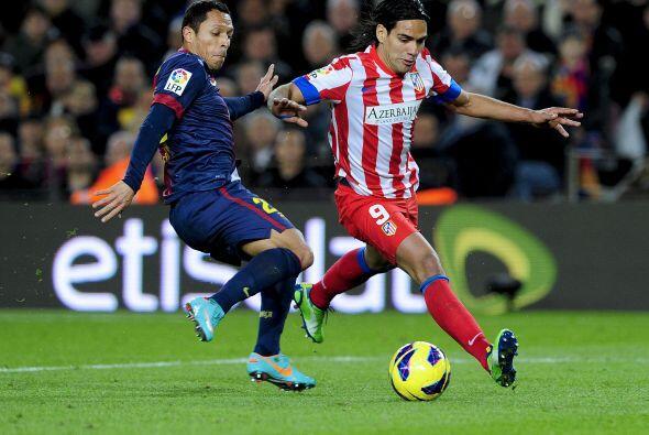 Este futbolista del Barcelona jugó en la lateral derecha ante Atlético d...