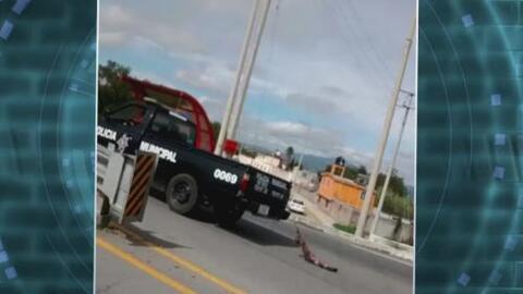 Policías arrastran perro muerto atado a la parte trasera de su camioneta...