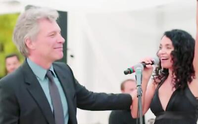 Lourdes logró su sueño con de cantar con Bon Jovi, y todo por una coinci...