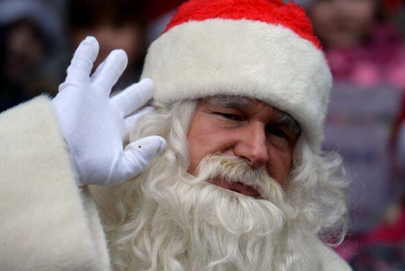 Papá Noel es muy conocido por su gran generosidad y éste si es un dato r...
