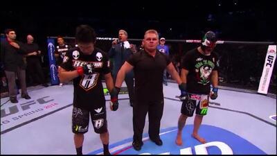 El mexicano Erik 'Goyito' Pérez perdió por primera vez en UFC y terminó...