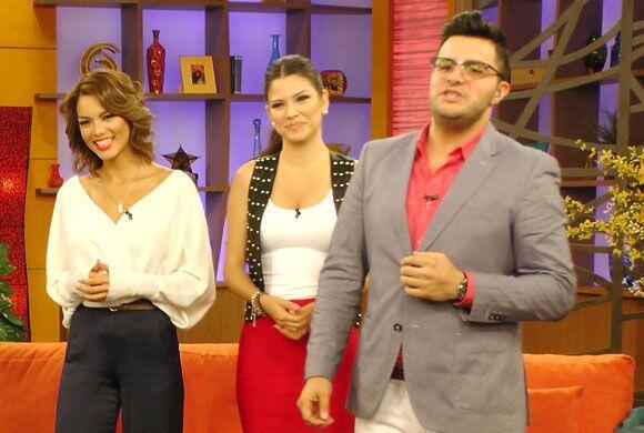 La ex Miss Universo Zuleyka Rivera llegó al programa para hablar...