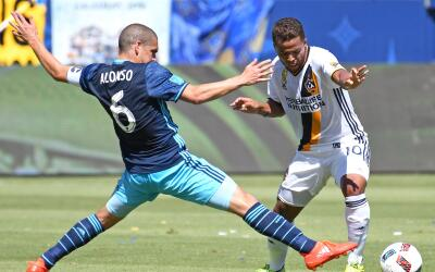 Seattle Sounders celabra triunfo ante LA Galaxy