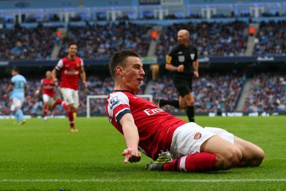 Y segundo porque marcó el gol que ayudó para que su equipo...