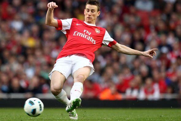Laurent Koscielny del Arsenal. El central francés ha vivido una r...