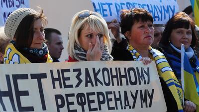 Crimea: ¿Rusia o Ucrania?