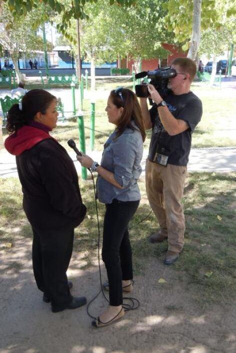 Nuestra corresponsal Tifani Roberts habló con varias personas del pueblo.