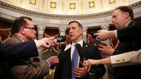 El congresista Darrell Issa en el Capitolio esta semana.