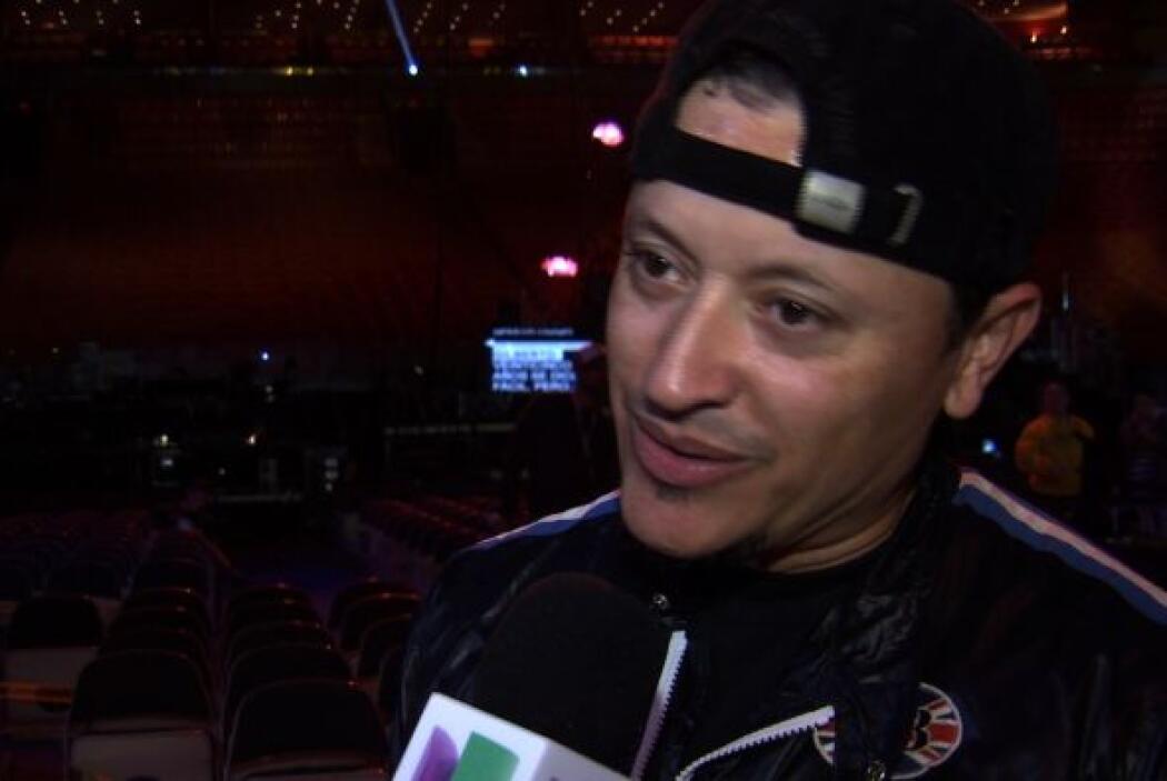 Además habló para las cámaras de Univision.