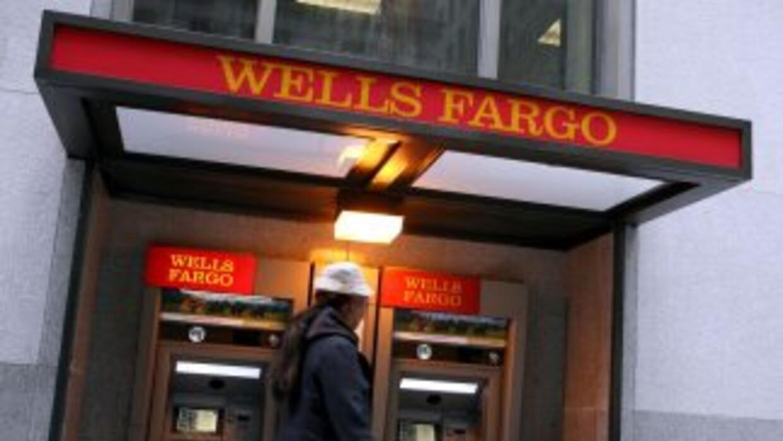 Wells Fargo incrementa sus ganancias trimestrales.