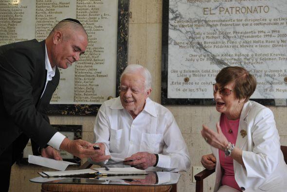 El senador cubanoestadounidense, Roberto Menendez (Nueva Jersey), critic...