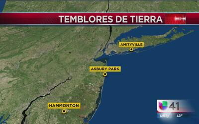 Temblores de tierra en el área tri-estatal