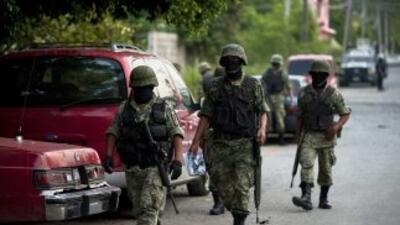 El combate al narcotráfico por parte del Ejército, lo ha hecho vulnerabl...