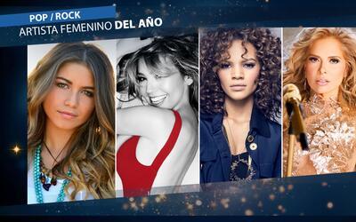Nominados Pop / Rock