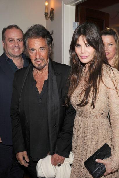 Al Pacino se divirtió en una fiesta de Hollywood con su novia, Lucila So...