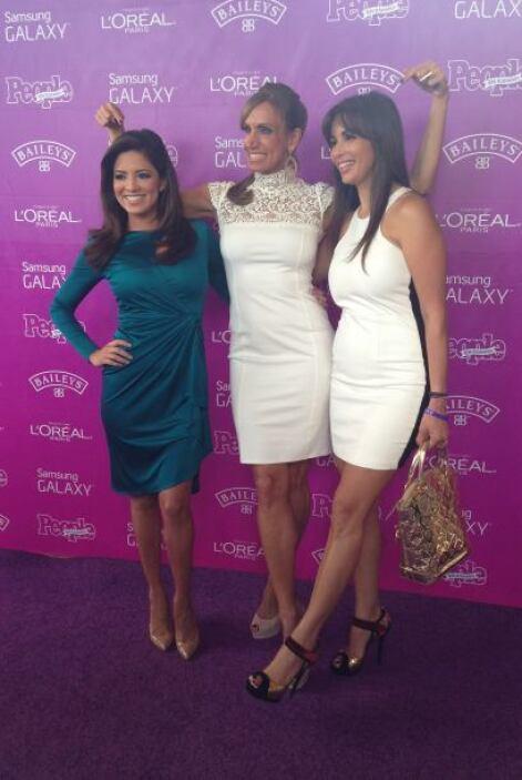 La foto del recuerdo de Pamela, Lili y Giselle.