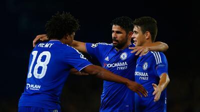 Los Blues no tuvieron rival y golearon sin problemas al conjunto de Israel.
