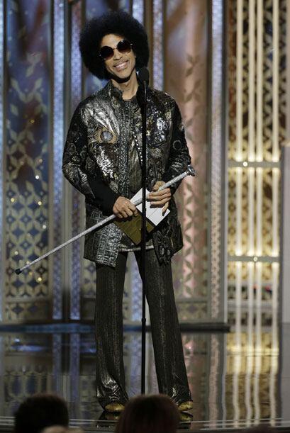 Prince recibió gran ovación.