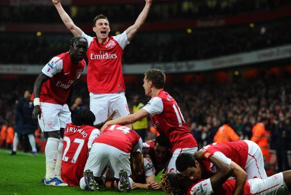 Era el minuto 95 y Arsenal estaba rescatando una victoria de suma import...