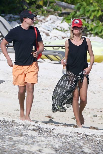 """Heidi Klum se fue con el novio de """"turno"""" a pasar unas guapas vacaciones..."""