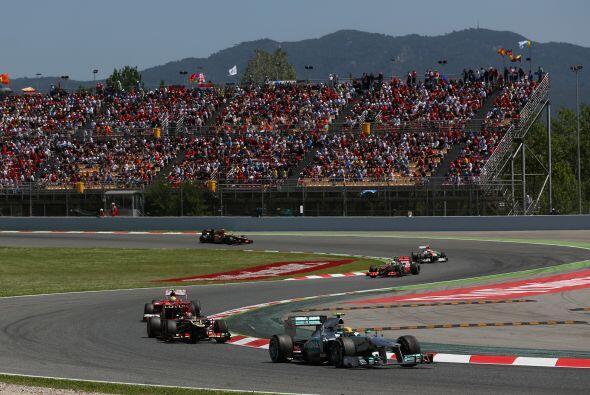 La actuación de los dos Mercedes ha sido la confirmación de una crónica...
