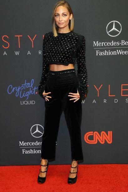La 'fashionista',  Nicole Richie, elevó a otro nivel su encanto c...