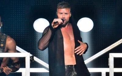 Ricky Martin mostró sus 'encantos' a El Gordo y la Flaca