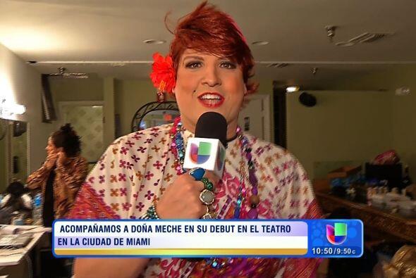 Doña Meche estrenó su obra de teatro con gran éxito...