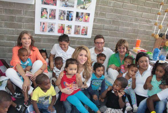 La intérprete estuvo en la ciudad de Cartagena para inaugurar en...