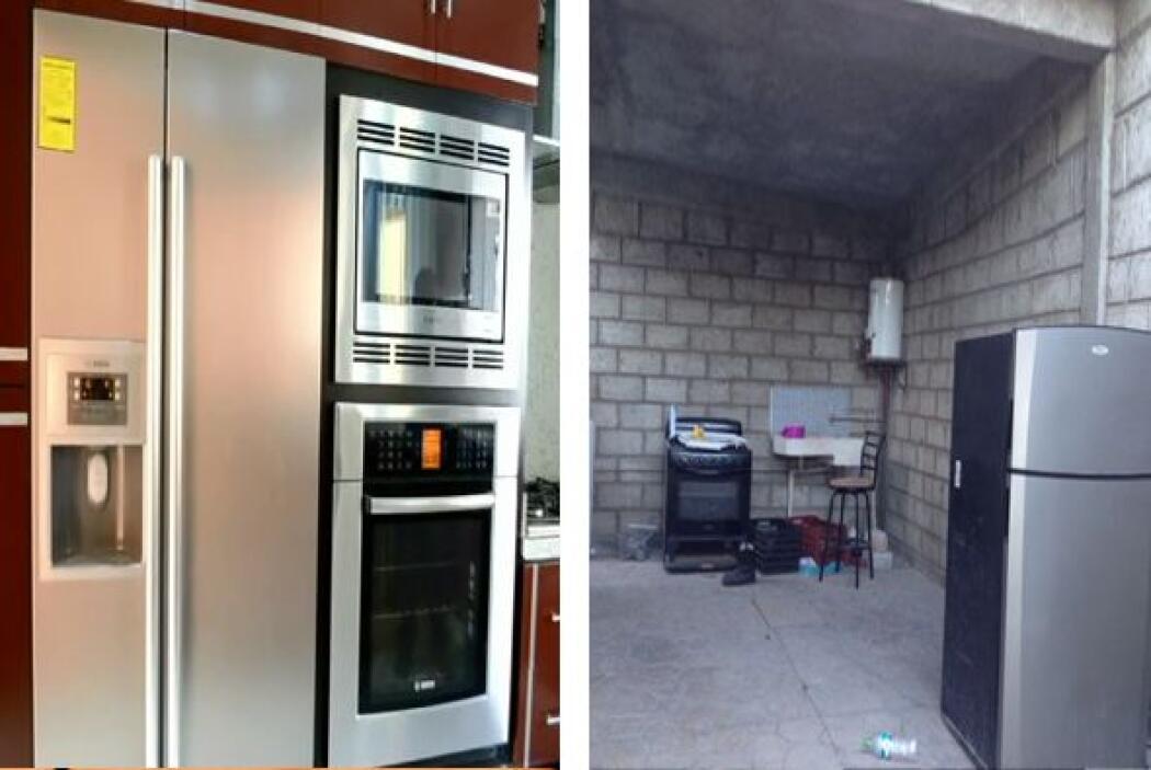 En su vivienda de La Nueva Italia contaba con un frigorífico para vinos,...